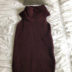 Max Studio sleeveless cowl neck sweater